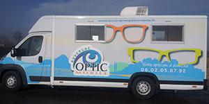 Camion opticien à domicile